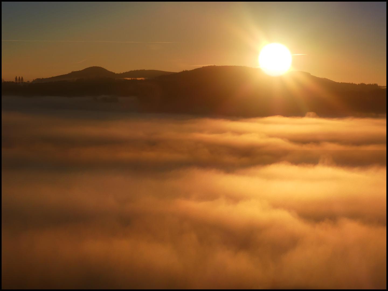 Nebelmeer....