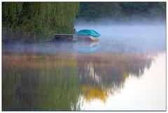 Nebelmorgen am Fluss, oder....