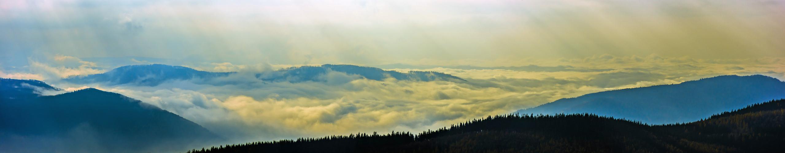 Nebelstimmung am Kupferberg
