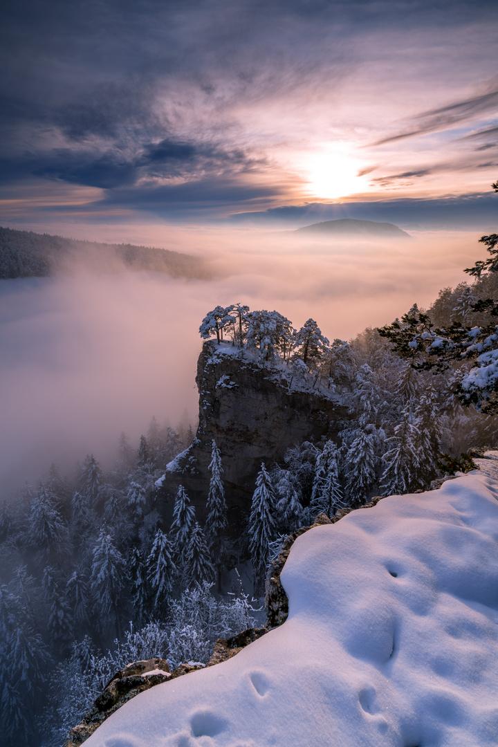 Nebelstimmung im Baselland