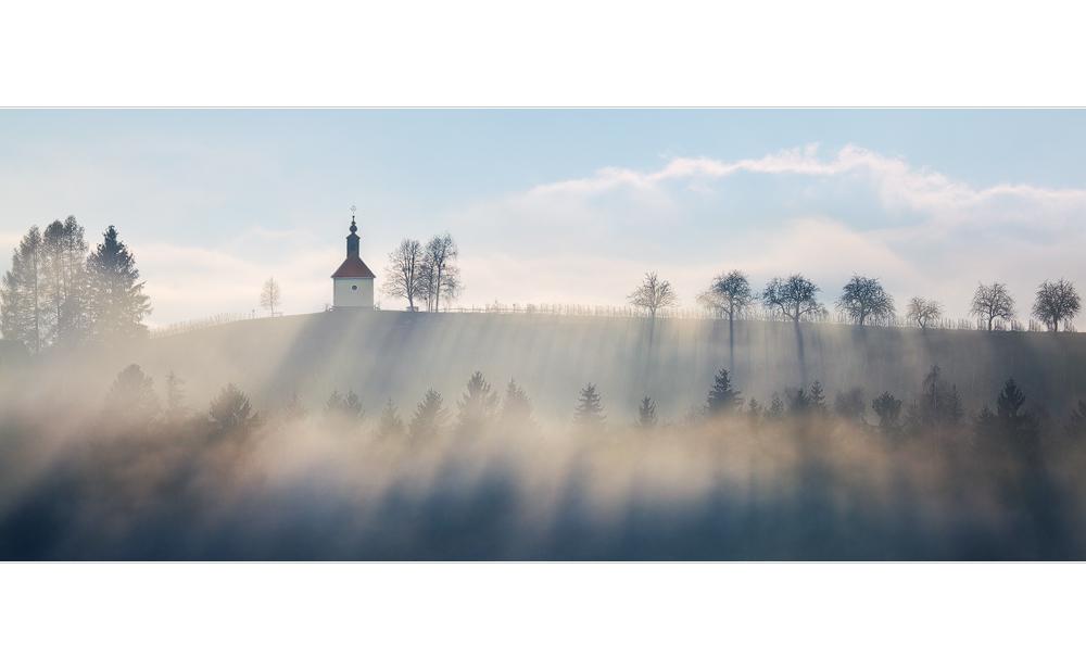 Nebelstimmung in der Südsteiermark