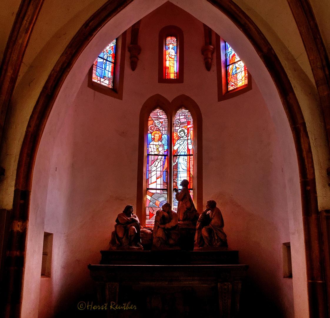 Nebenaltar in der Liebfrauen-Basilika / Trier