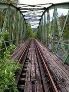 Nebenbahn Mürzzuschlag - Neuberg: Brücke über den Mürzfluss (Steiermark, Österreich)