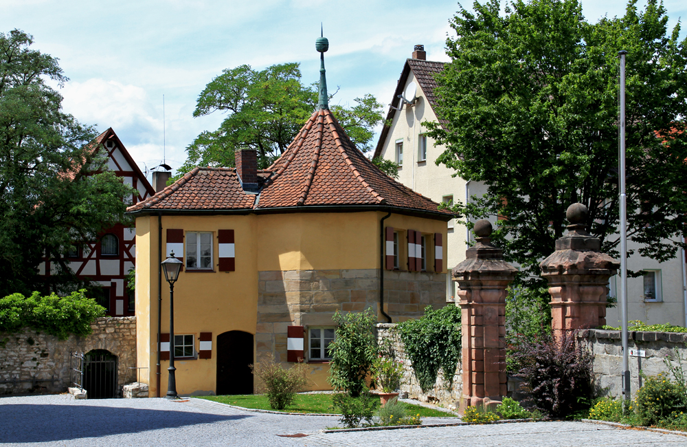 Nebengebäude des Hersbrucker Schlosses