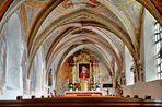Nebenschiff der Kirche Maria Himmelfahrt,mattighofen