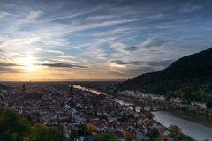Nebensonne über Heidelberg