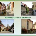 Nebenstrassen von Burkheim
