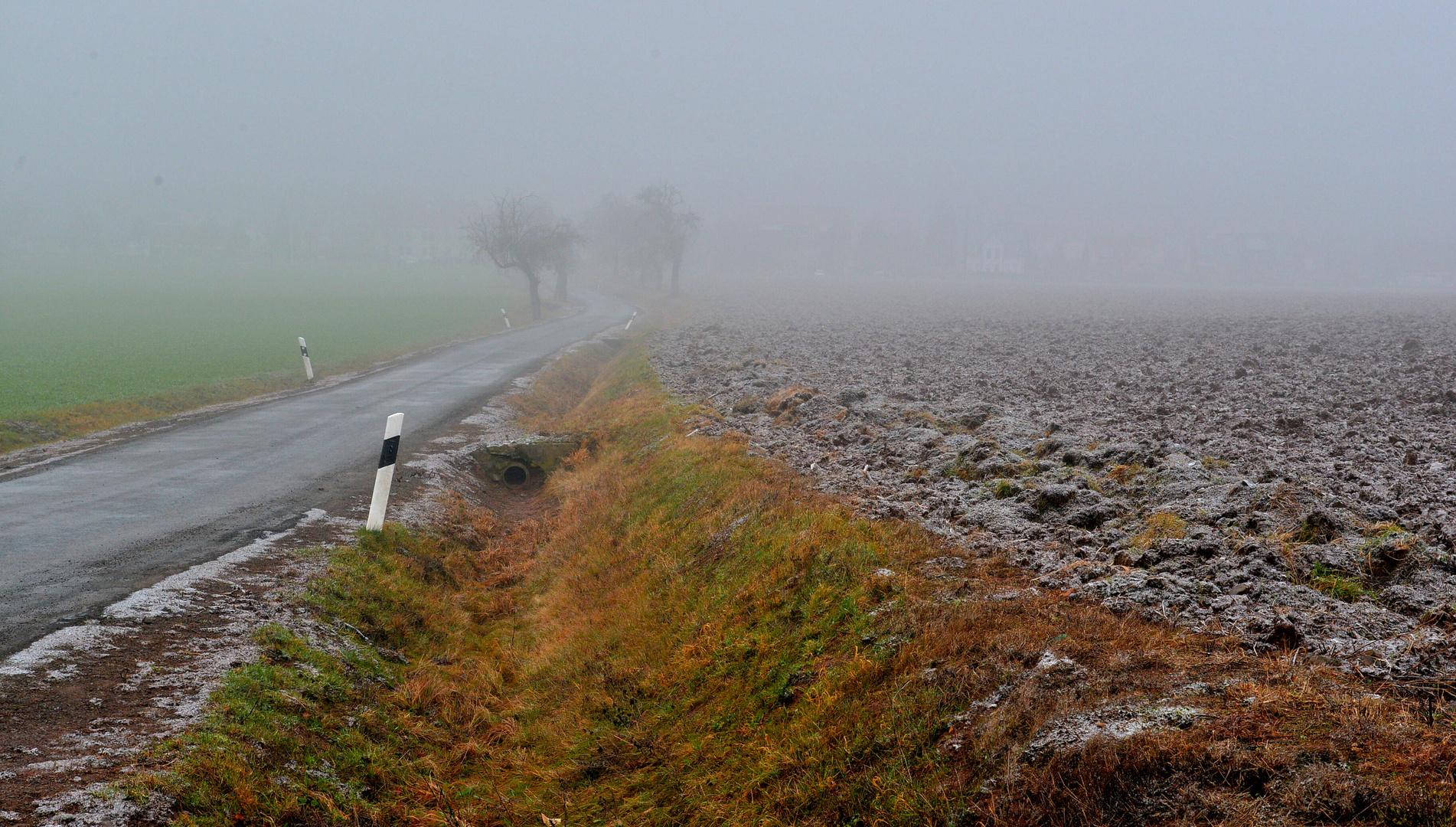 neblige Landschaft, 4 (paisaje nebuloso, 4)