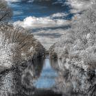 Neckar in infrarot.