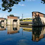 Neckar Schleusenbereich