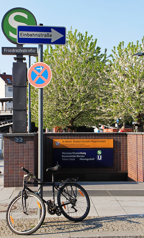 nehm´se de S oder de U-Bahn ...