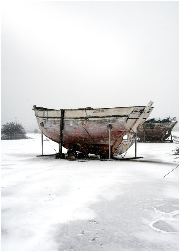 neige et bateau