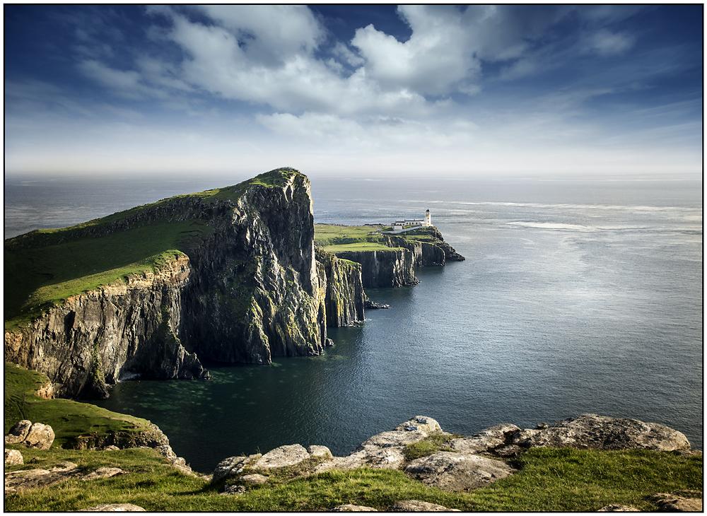 Neist Lighthouse in Schottland