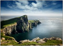 Neist Lighthouse in Schottland