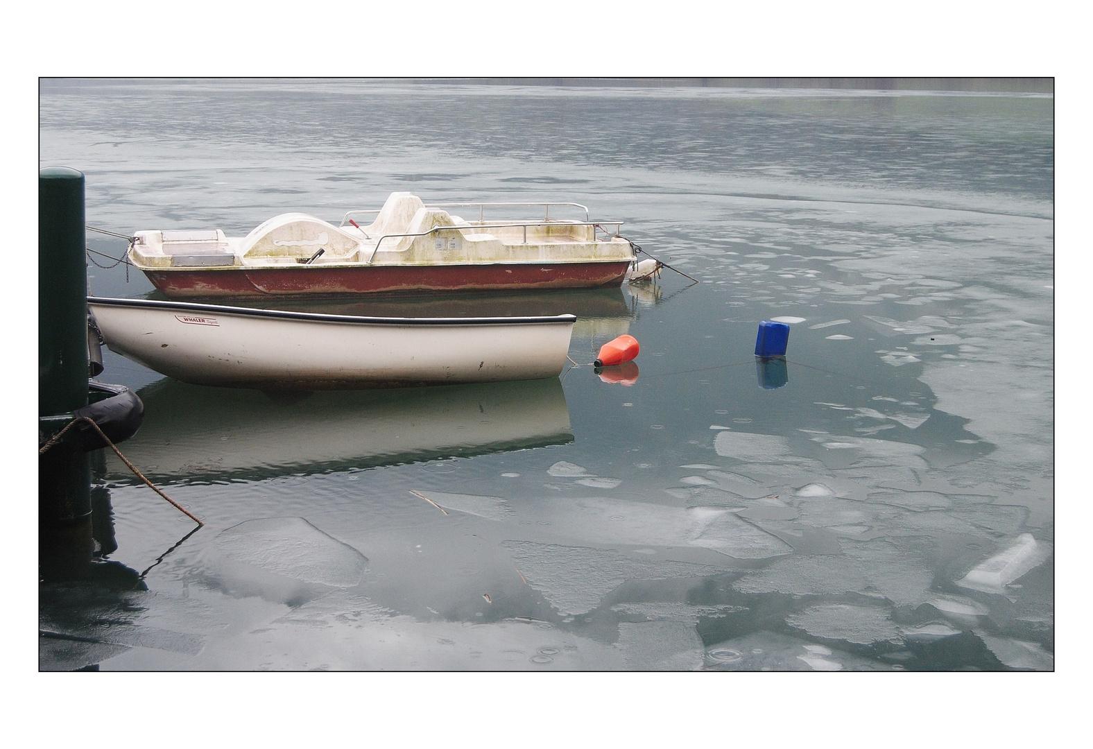 ...nel ghiaccio...