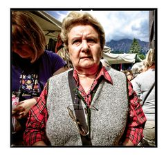 Nel mercato di Cortina