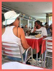 Nel ristorante in Portugal!!