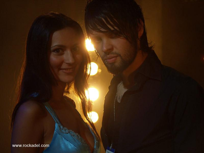 Nelly Bojahr & Benny Richter - Videoshoot w Butterfly Coma