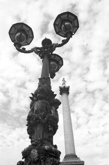 Nelson y Trafalgar...en Londres