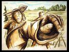 ...neolithische speerjagt...
