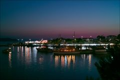 Neos Marmaras at Night