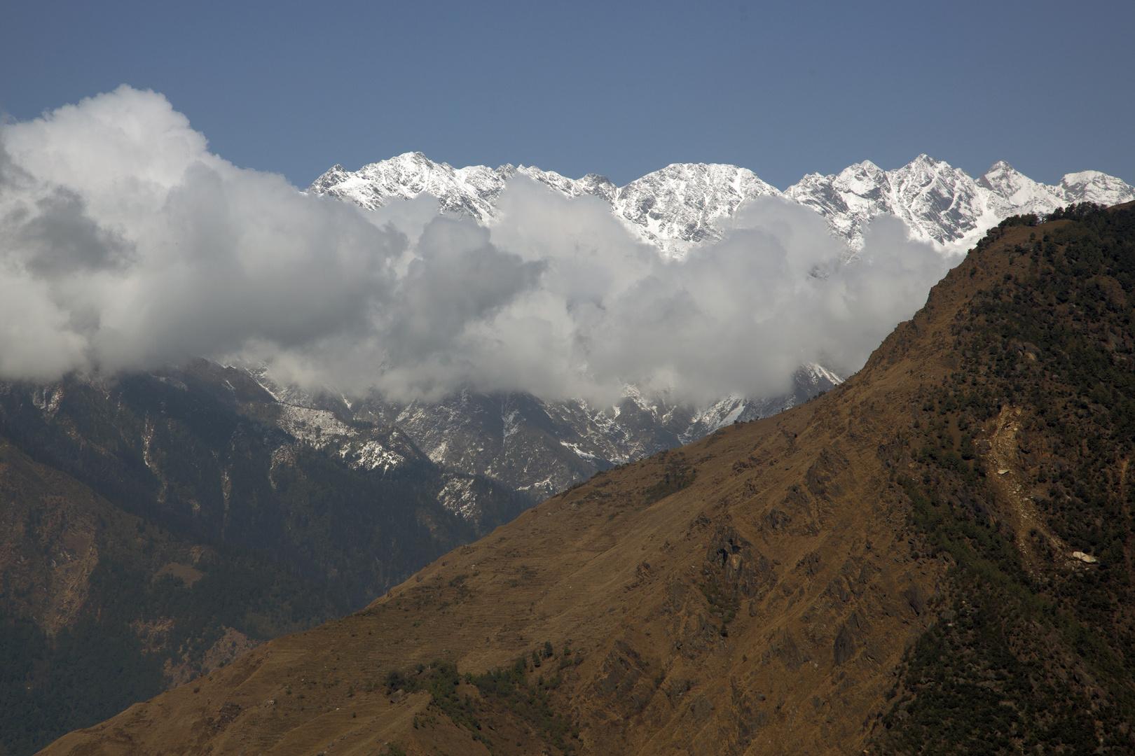 Nepal Bergsichten