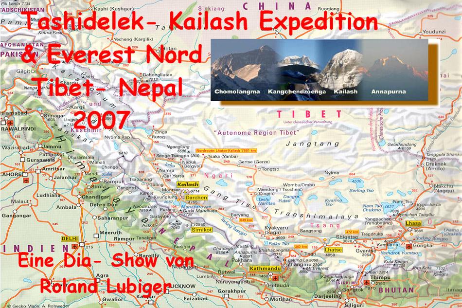 Nepal- Tibet 2007