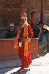 Nepalesischer Bettelmönch