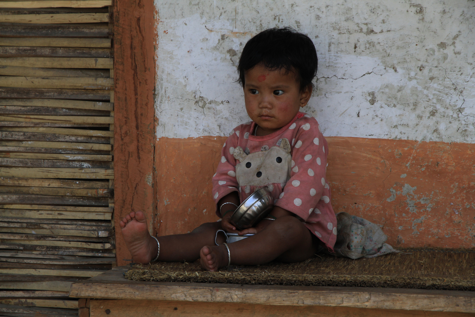 Nepali-Mädchen
