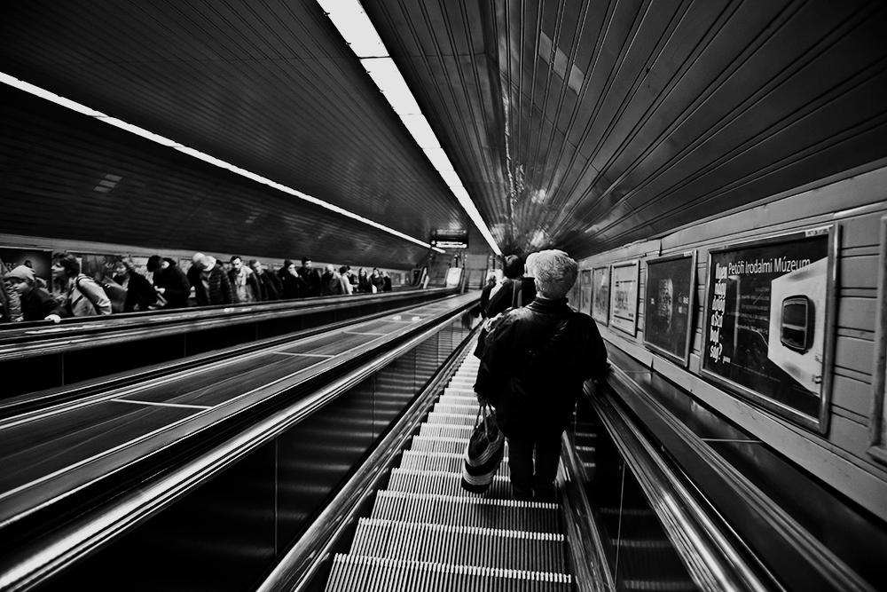 Népliget subway station, Budapest, Hungary