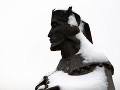 Nepomuck im Schneegewand