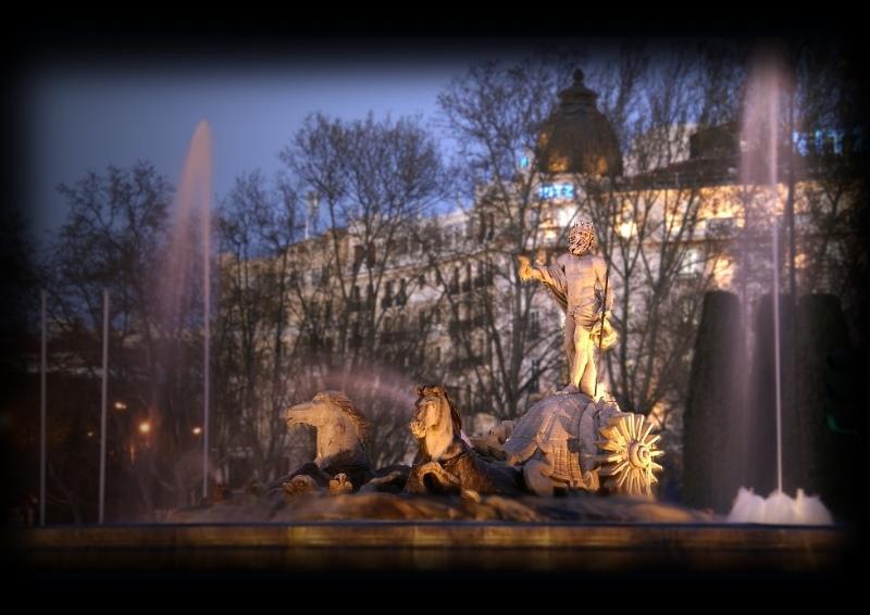 Neptun in Madrid