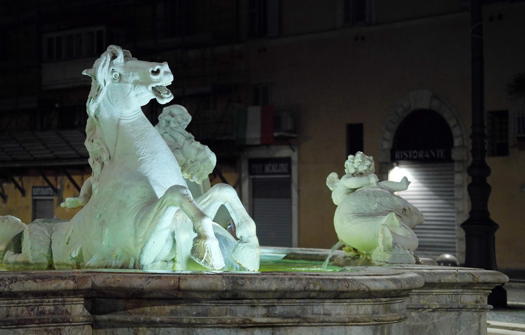 Neptunbrunnen auf der Piazza Navona