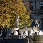 Neptunbrunnen Bremen Domshof