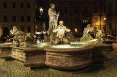 Neptunbrunnen Rom - Piazza Navona - Roma -