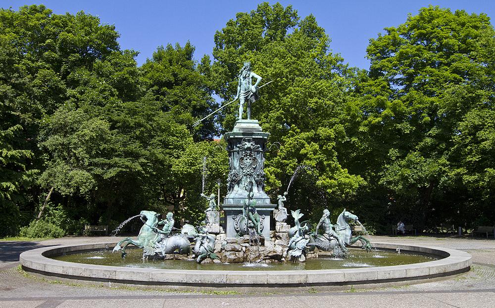 Neptunbrunnen, Stadtpark Nürnberg