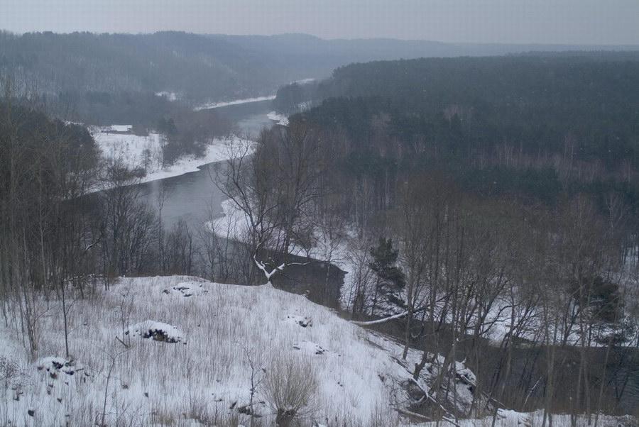 NERIS river near Vilnius