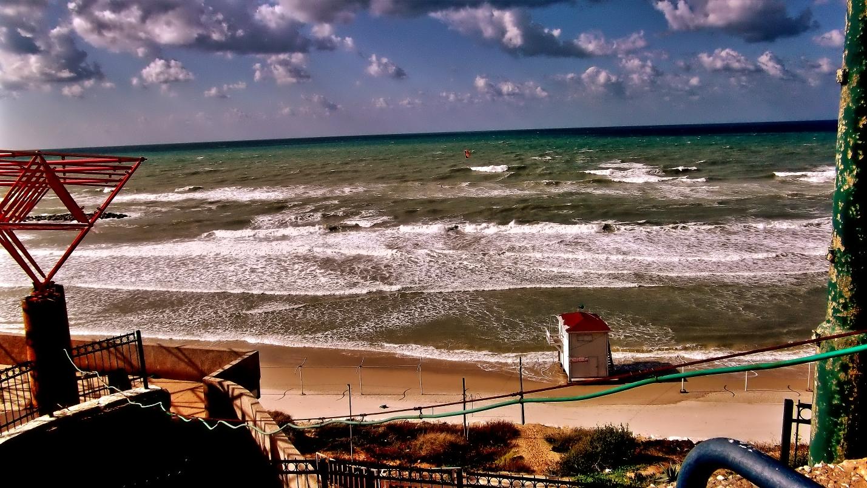 NETANYA SEA AT WINTER