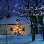 Netphen: St.-Peters-Platz, zur Weihnachtszeit