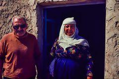 Nette Menschen in Qalb Loze, Syrien.  .120_3737