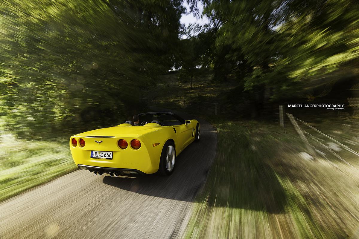 nette Vette von hinten... Corvette C6