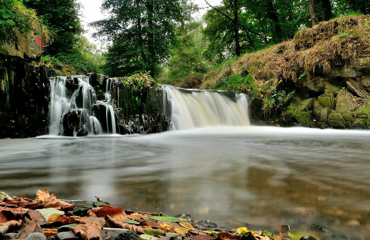 Nette Wasserfall Bei Trimbs Foto Bild Landschaft Wasserfälle