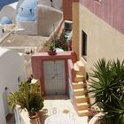 nettes Haus in Santorin