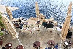 Nettes Plätzchen für eine Pause in Dubrovnik