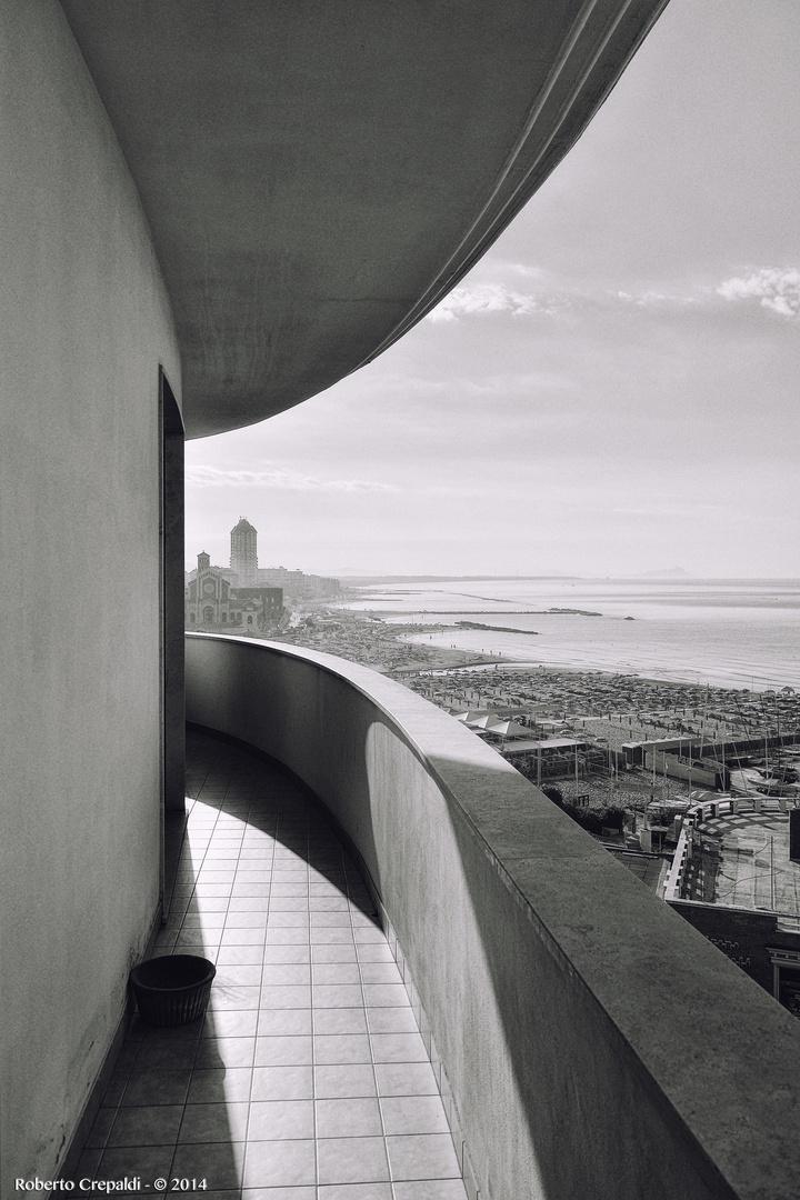 Nettuno, vista dall'hotel