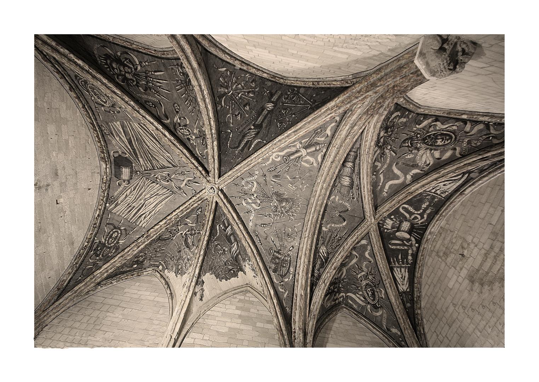 Netz aus Stein