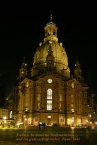 Neu gebaute Frauenkirche in Dresden