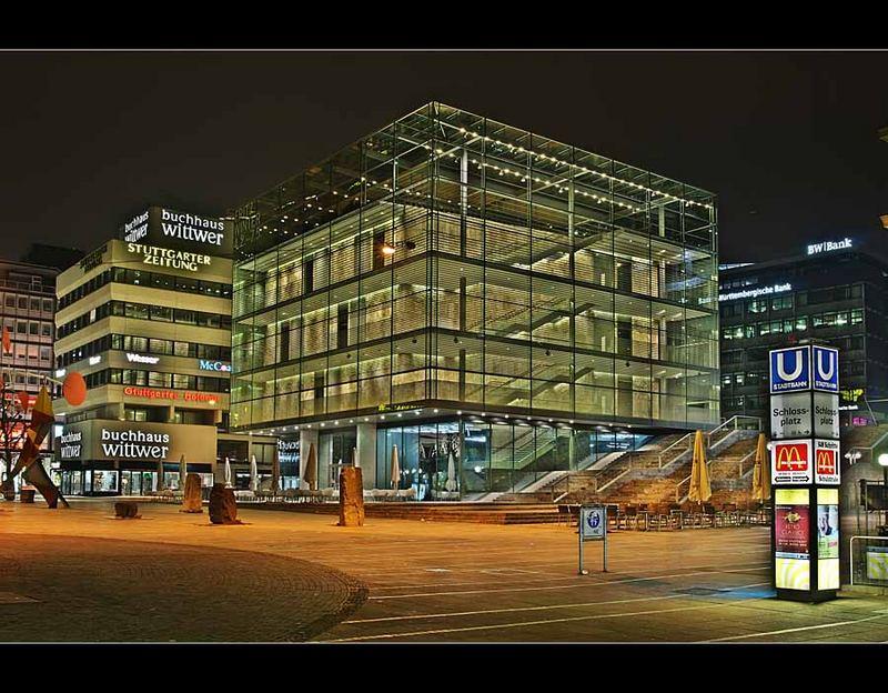 Neue galerie der stadt stuttgart foto bild architektur for Neue architektur stuttgart