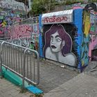 Neue Graffiti am HdJ