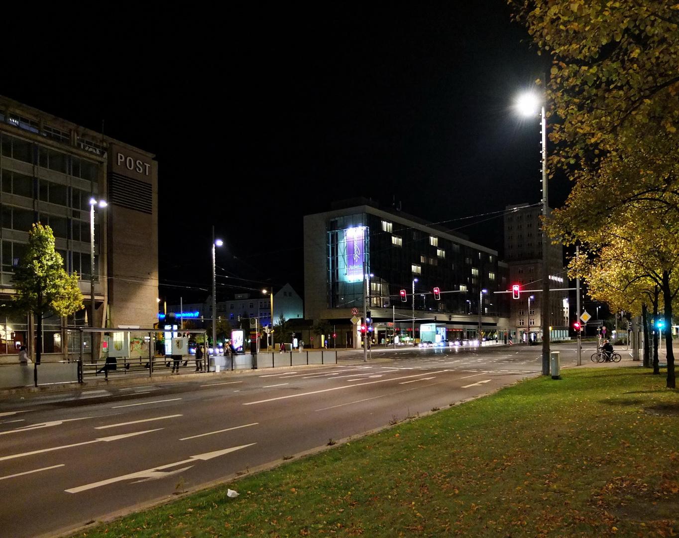 Neue Leipziger Straßenbeleuchtung